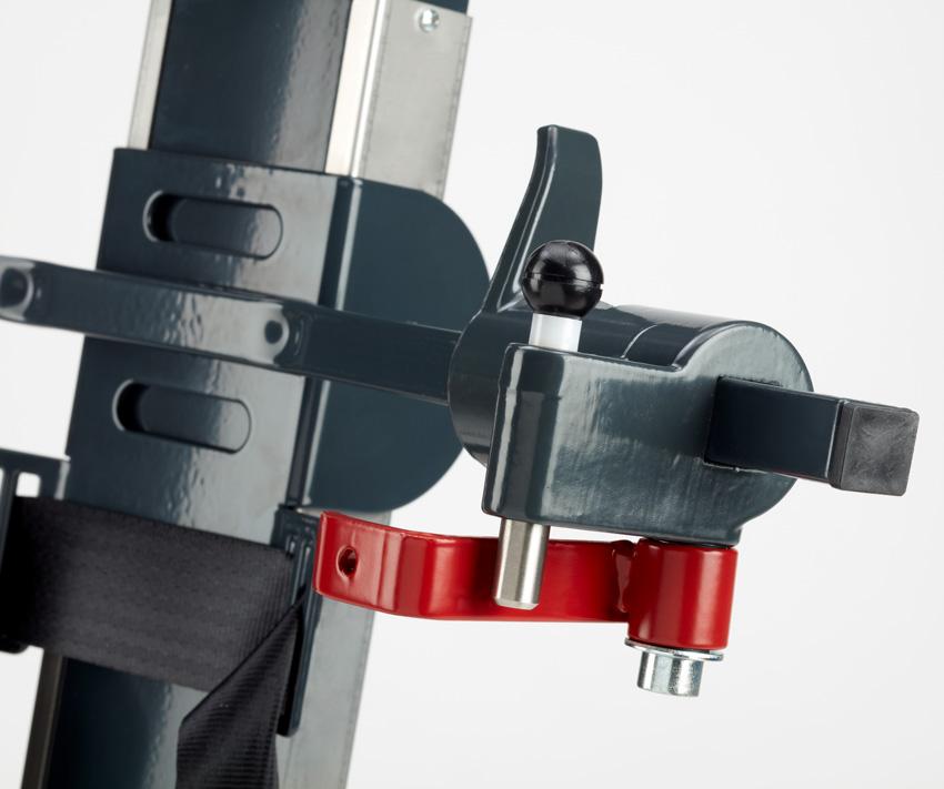 Bezpečnostné prvky pásového schodolezu T09