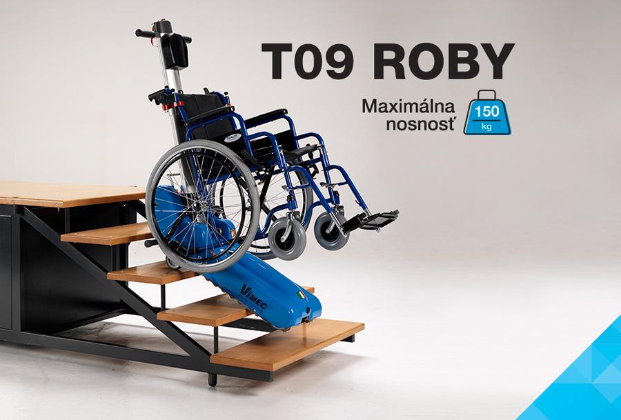 Pásový schodolez Roby T09 - nosnosť 150kg